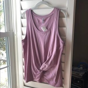 Z Supply Twist Front Tank Top Size Large